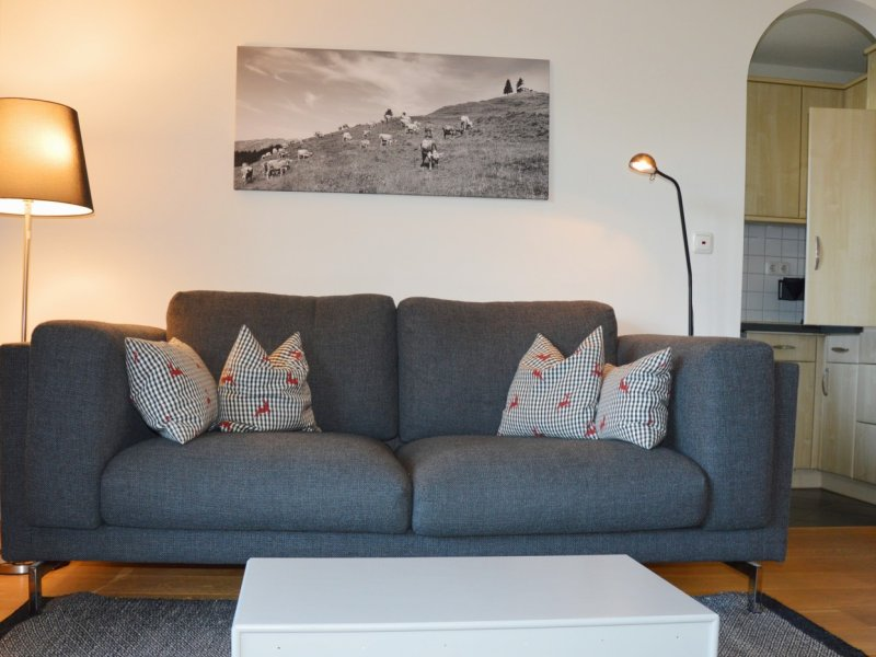 Oberstdorf Ferienwohnung Wurl Sofa